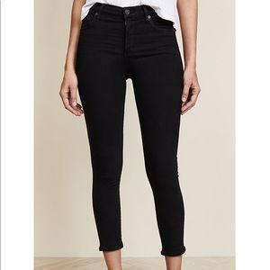 Citizens for humanity rocket crop jeans. Size 25